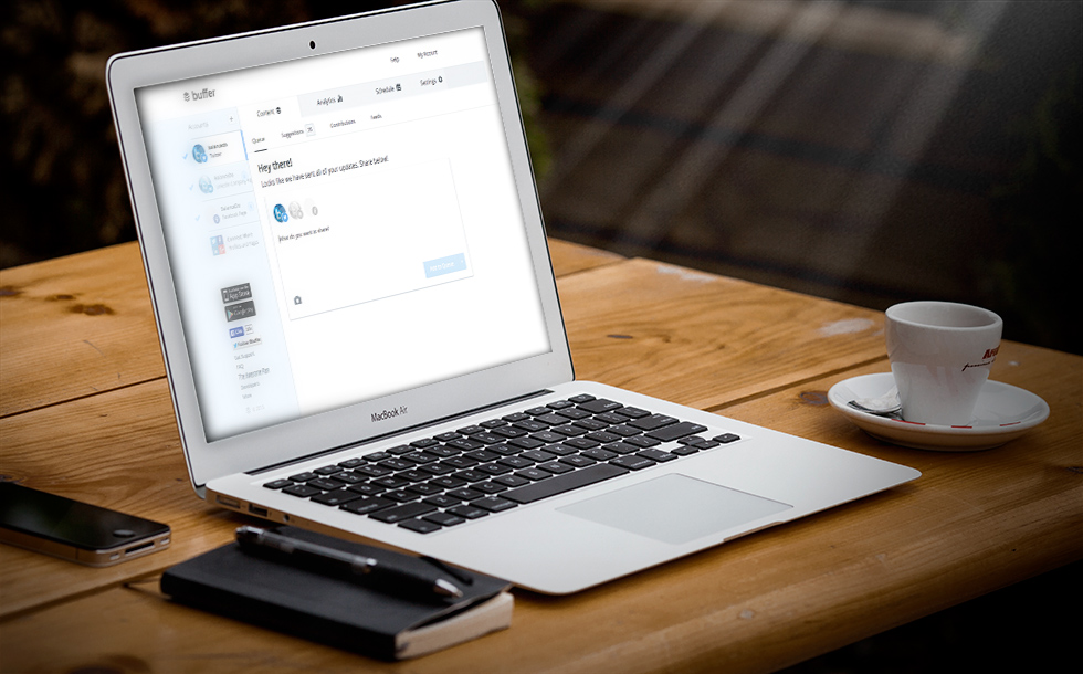 Buffer, the easiest way to publish on social media.