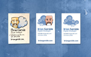 Business Cards - Sketch to Finished