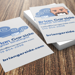 BrianGarside.com Business Cards