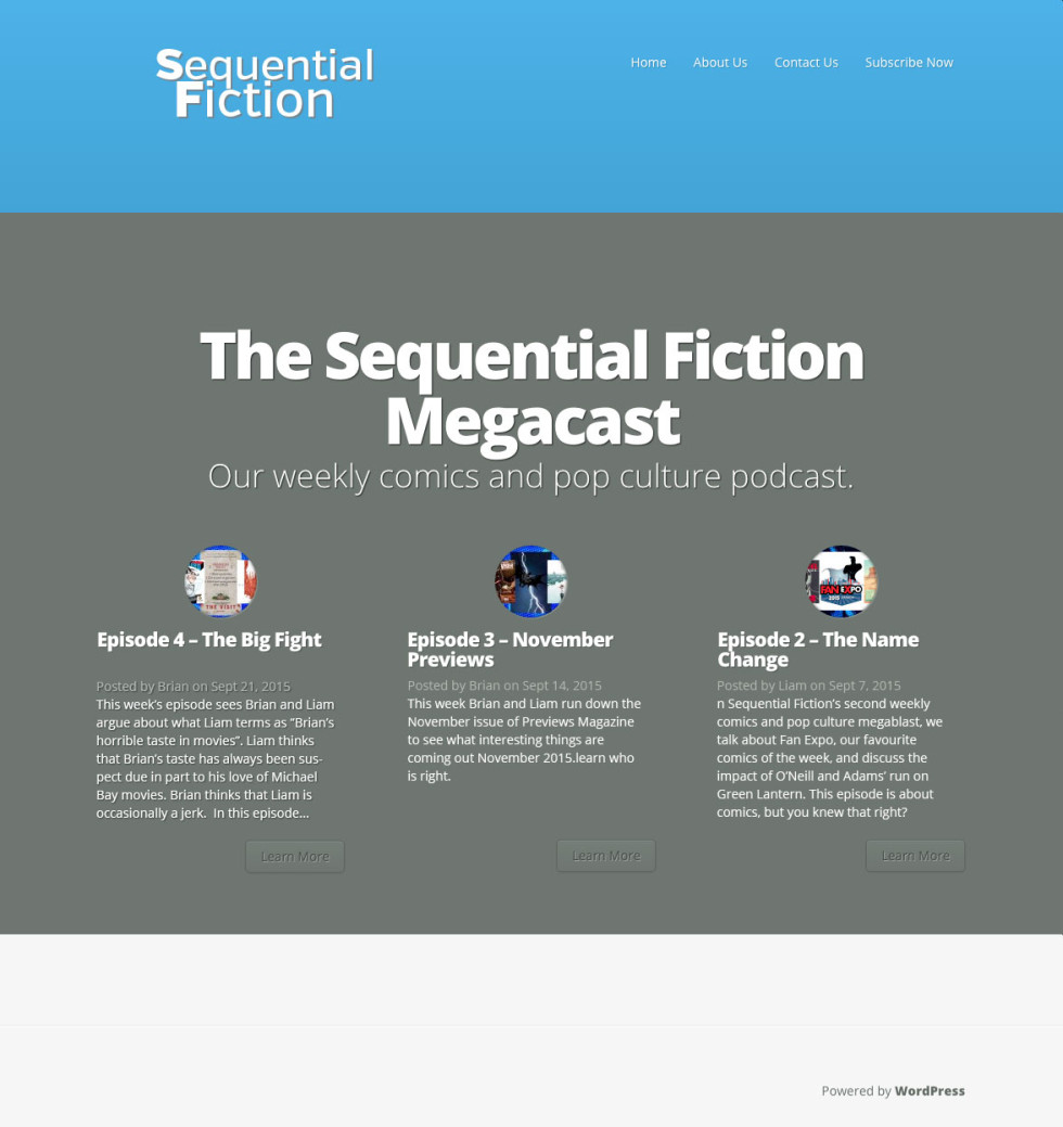 The Sequential Fiction Home Page