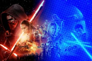 An interim cover art style for Star Wars The Force Awakens