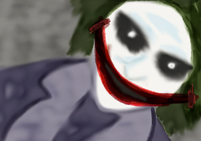 """The Joker says """"It's all part of the plan""""."""