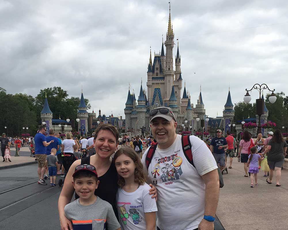 Team Garside at the Magic Kingdom